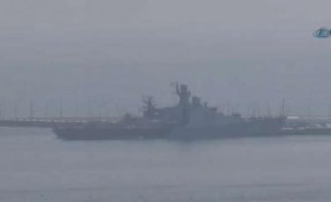 Rus Donanması Bakü'de