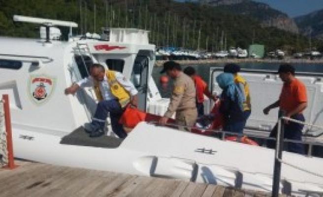 Denizde 105 Kaçak Kurtarıldı