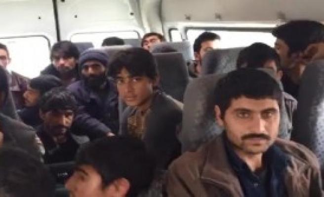Sakarya'da 22 Kaçak Yakalandı