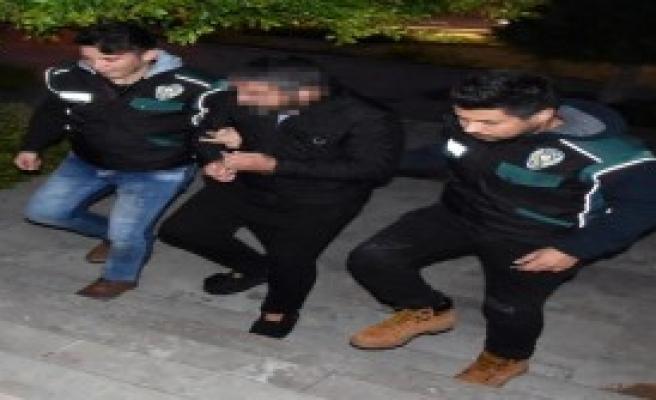 Saksıdaki Uyuşturucuya Tutuklama