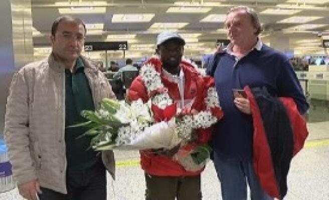 Şampiyon Ali Kaya Yurda Döndü