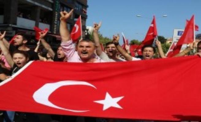 Samsun'da Teröre Öfke