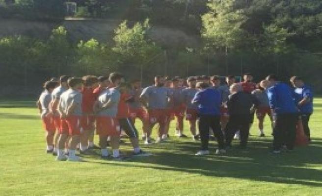 Samsunspor'da Antrenman 3'e Çıktı