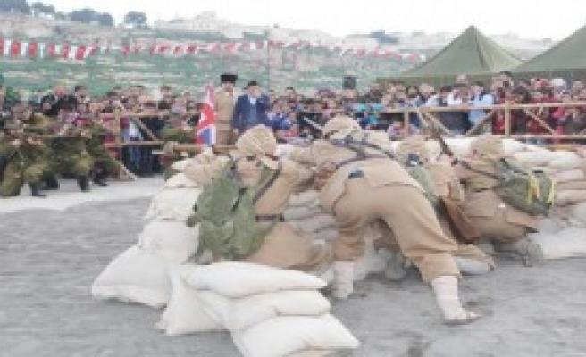 Şanlıurfa'da Çanakkale Destanı Sahnelendi