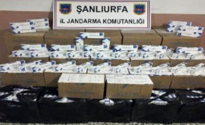 Şanlıurfa'da Kaçakçılık Operasyonları!
