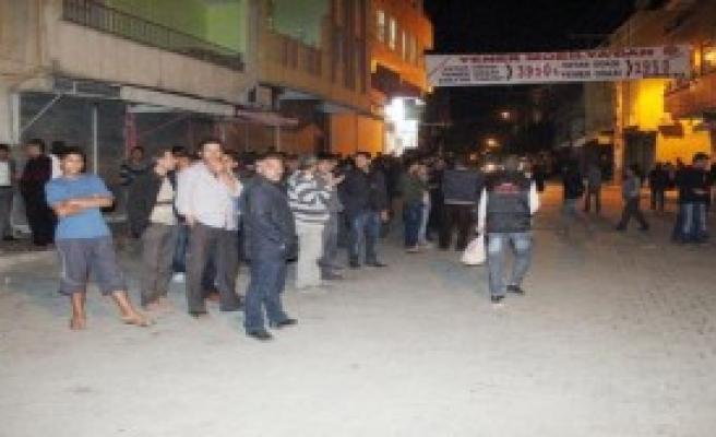 Şanlıurfa'da Markete Molotoflu Saldırı