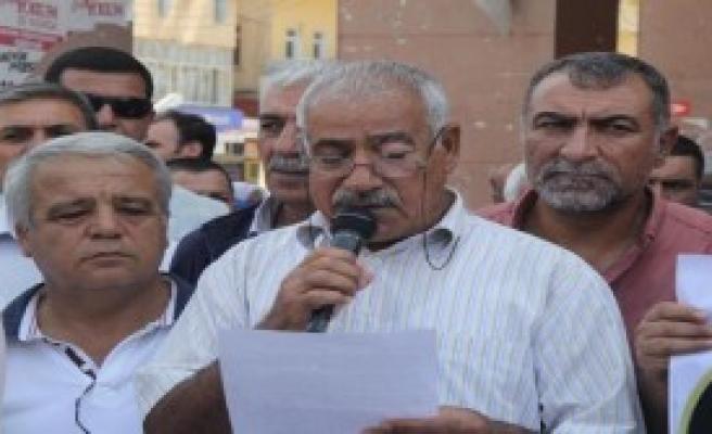 Şanlıurfa'da 'Savaşa Hayır' Açıklaması