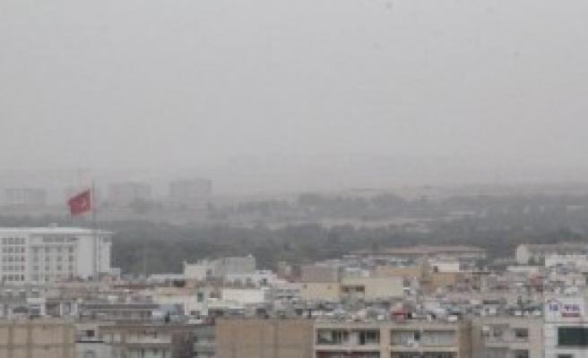 Şanlıurfa'da Toz Bulutu