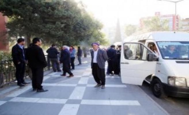 100 Kişilik Grup Silvan'a Gitti