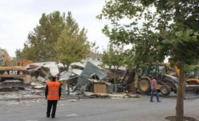 Konya'da Savaş Gibi Yıkım