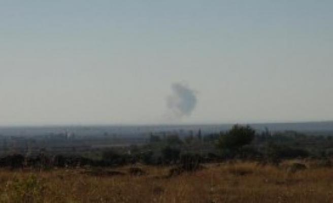 Savaş Uçakları IŞİD'i Vurdu