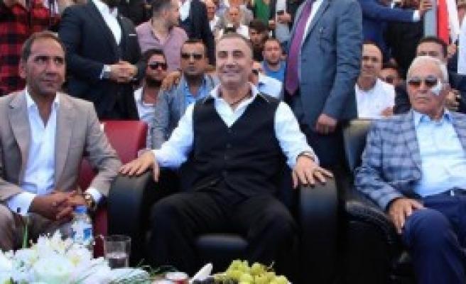 Sedat Peker Sivas'ta Festivale Katıldı