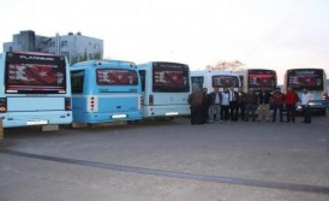 Şehit Ailelerine Ücretsiz Minibüs