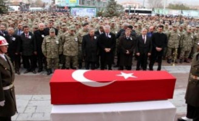 Erzincan, Şehidini Uğurladı