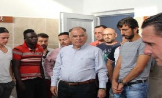 Selçuk'taki Spor Kulüplerine Destek