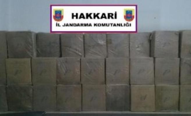 98 Bin Paket Kaçak Sigara Ele Geçirildi