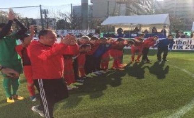 Sesi Görenler Milli Takımı, Rusya'yı 1-0 yendi