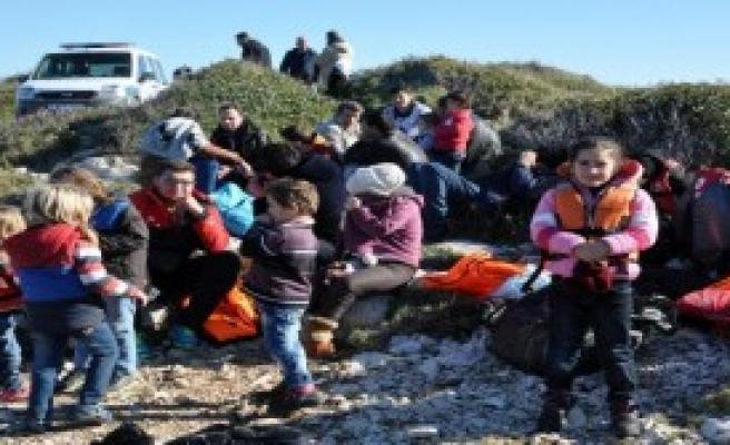 Sığınmacılar Bu Kez Kaçamadan Yakalandı