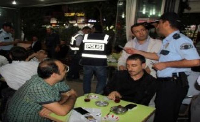 Siirt'te 300 Polisle Asayiş Uygulaması