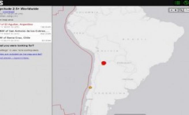 Şili - Arjantin Sınırında 6,7 Büyüklüğünde Deprem