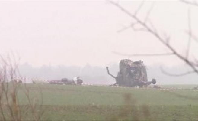 Helikopter Düştü: 7 Kişi Öldü