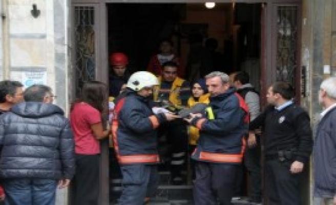 Şişli'de Asansör Kazası