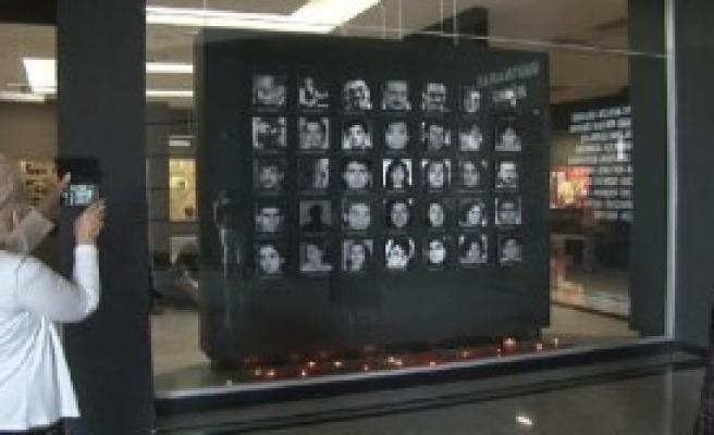 'Unutmamak Müzesi'nde Anıldılar