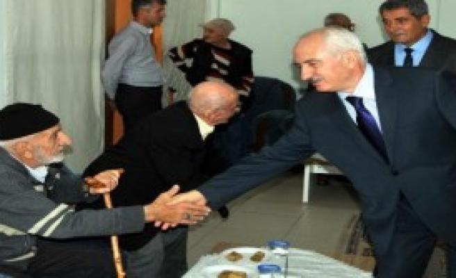 Sivas Valisi Barut'tan Kurban Bayramı Ziyaretleri