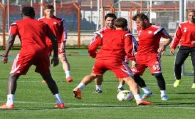 Sivasspor Beşiktaş Maçı Hazırlıklarına Başladı