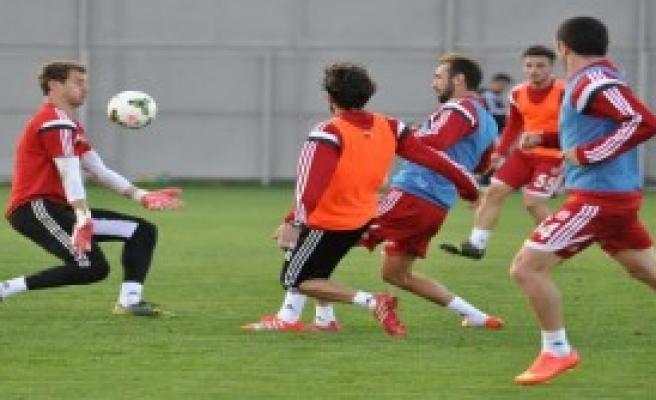 Sivasspor Beşiktaş'a Hırslı Hazırlanıyor