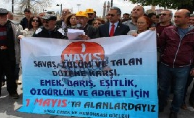 Sivas'ta 1 Mayıs Çağrısı