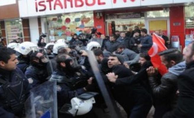 SİDEMİR'de Gazlı Müdahale
