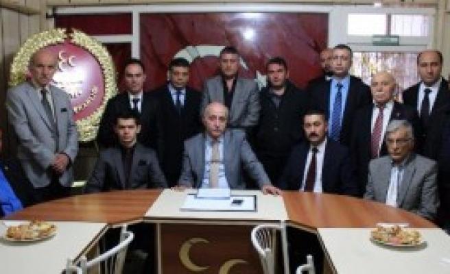 Sivas'ta MHp'nin Yeni Yönetimi Belli Oldu