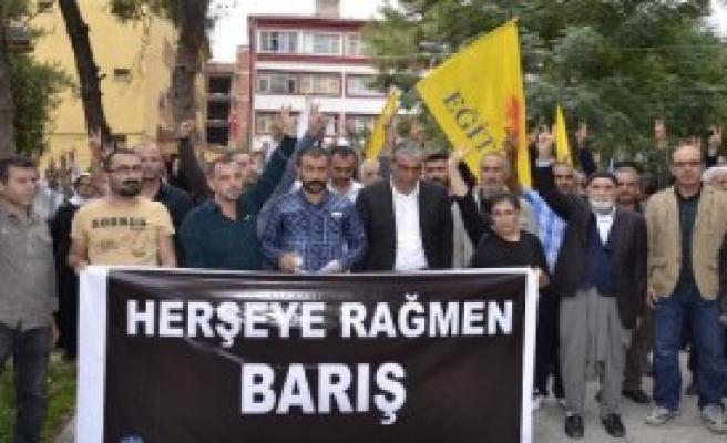 STK'lar, Ankara'daki Katliamı Protesto Etti