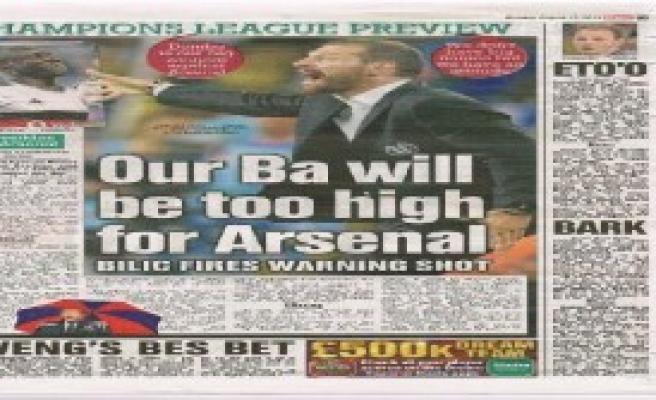 'Bizim Ba Arsenal İçin Çok Yüksek Gelir'