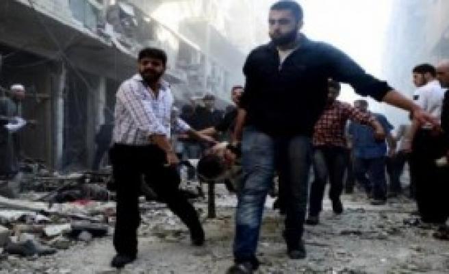 SOHR: Hava Saldırısında 35 Kişi Öldü