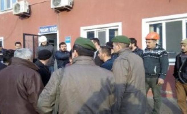 Soma'da 11 Madenci Gözaltına Alındı