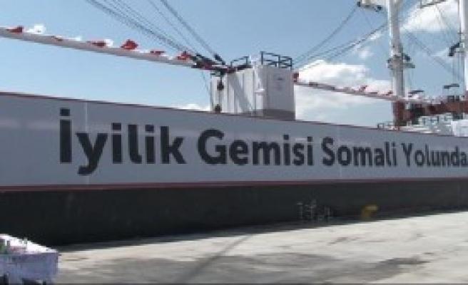 Somali'ye Yardım Gemisi