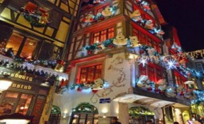 Strasbourg'ta Noel Işıkları