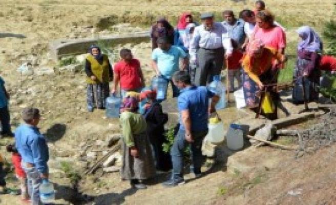 Su İhtiyaçlarını Kuyudan Sağlıyorlar
