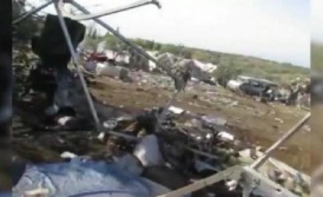 Suriye Helikopteri Ölüm Saçtı!