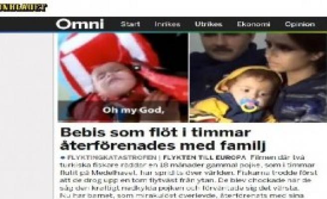 Suriyeli Bebek Haberi İsveç Basınında