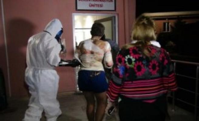 Suriyeli Yaralılar Kimyasal Testten Geçirildi