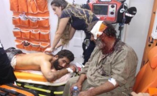 Suriyeliler Arasında Kavga: 2 Yaralı, 4 Gözaltı