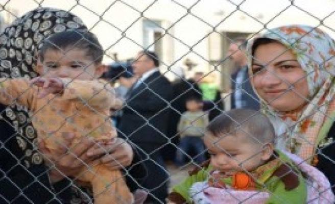 Suriyeliler K.Irak'a Sığınıyor