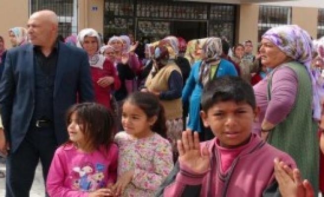 Kilis'te Suriyelilere Tepki