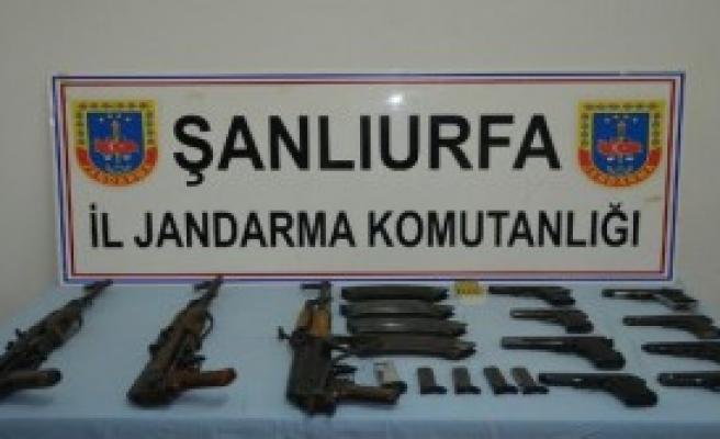 Suruç'ta PKK'ya Silah Temin Edenlere Operasyon