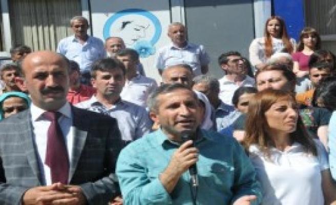 Suruç'taki Saldırı Hakkari'de Kınandı