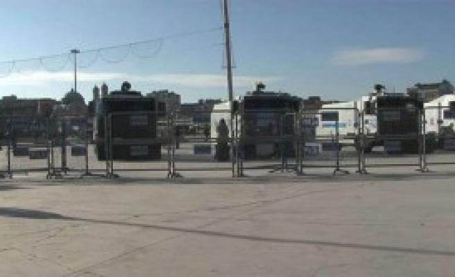 Taksim'de Hrant Dink Önlemi