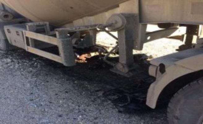 Tankerle Atv Çarpıştı: 2 Ölü